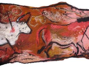 Lascaux Wool Painting