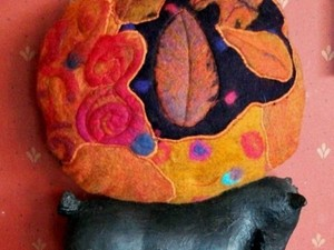Felted artwork