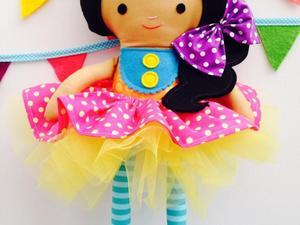 Princess doll with tutu