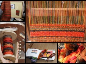 Making a merino wool scarf