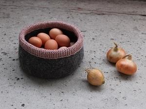 Wool storage bowl