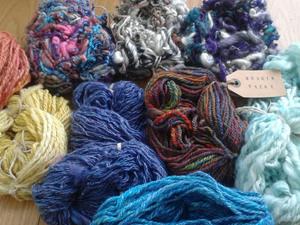 Selection of yarns from Bodkin yarns