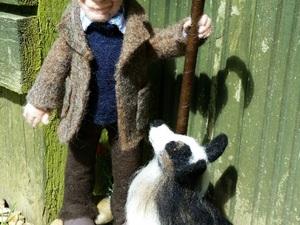 Farmer And His Dog Core Wool, Merino Roving