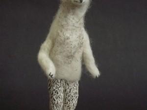 Stand up polar bear