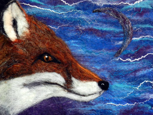 Fox by the sea