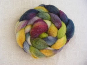 Multi-coloured jumbo yarn