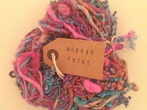 Yarn in pink shades