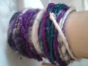Yarn for bracelets