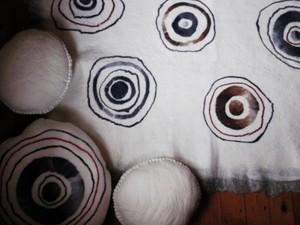 Close up of cushion detail