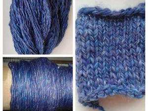Yarn used to made into a scarf