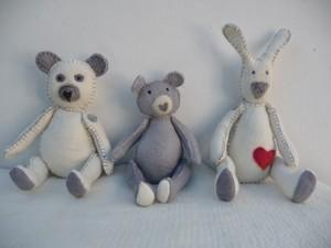 Teddies and rabbits