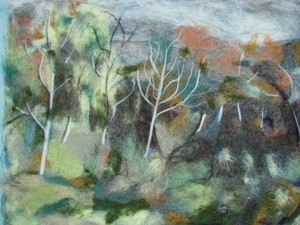 Felted Autumn day