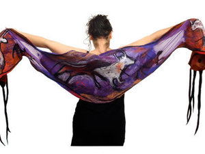 Lascaux Scarf Rear View