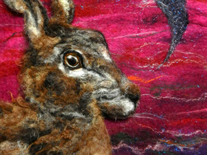 Red sky hare