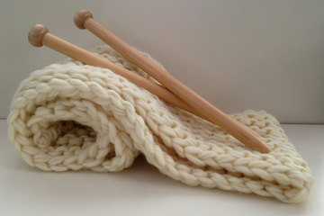 What can this do? Jumbo Knitting Needles