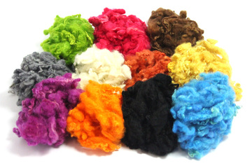Dyed Curly Wool Locks - Now Available!!!