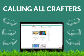 Calling All Crafters - help us create an amazing resource library.